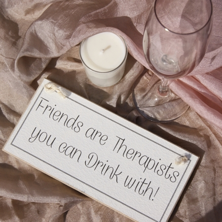 friendship quote hanging sign home of juniper