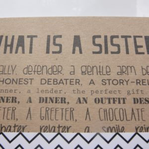 funny sister notebook