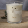 focus fragrance plant wax candle