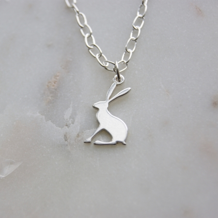 Hare bracelet sterling silver