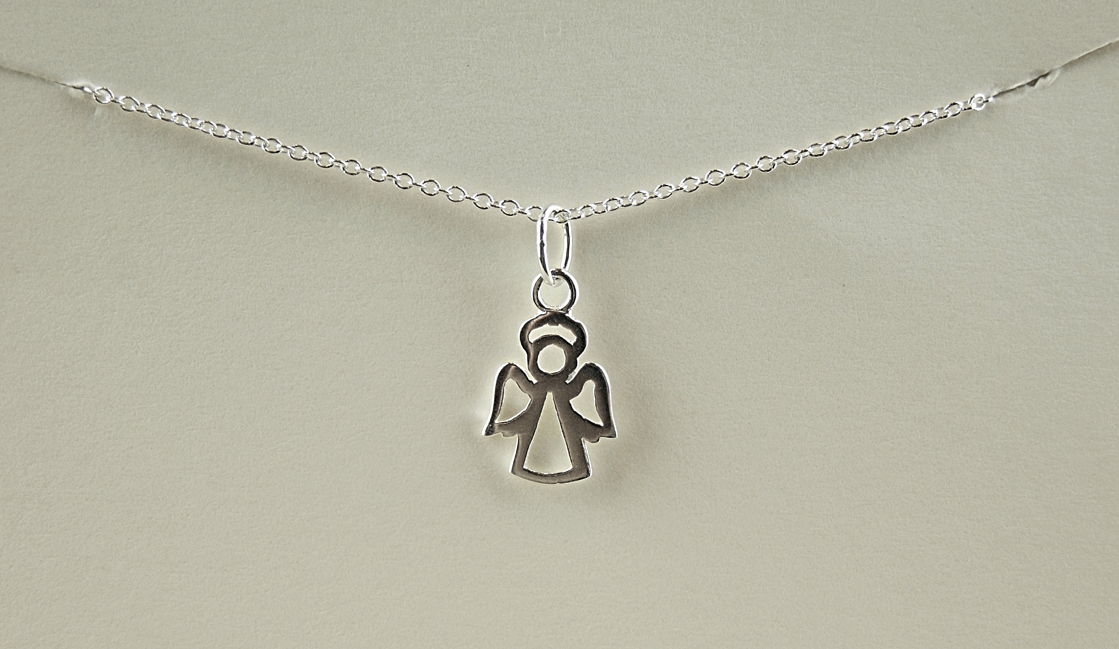 of made pendant gift in angel the home necklace juniper sterling jewellery and product uk silver