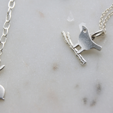 hare bracelet and bird on a branch necklace home of juniper