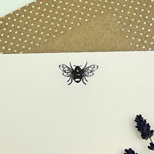 bee letter writing set - made uk - katie leamon - home of juniper
