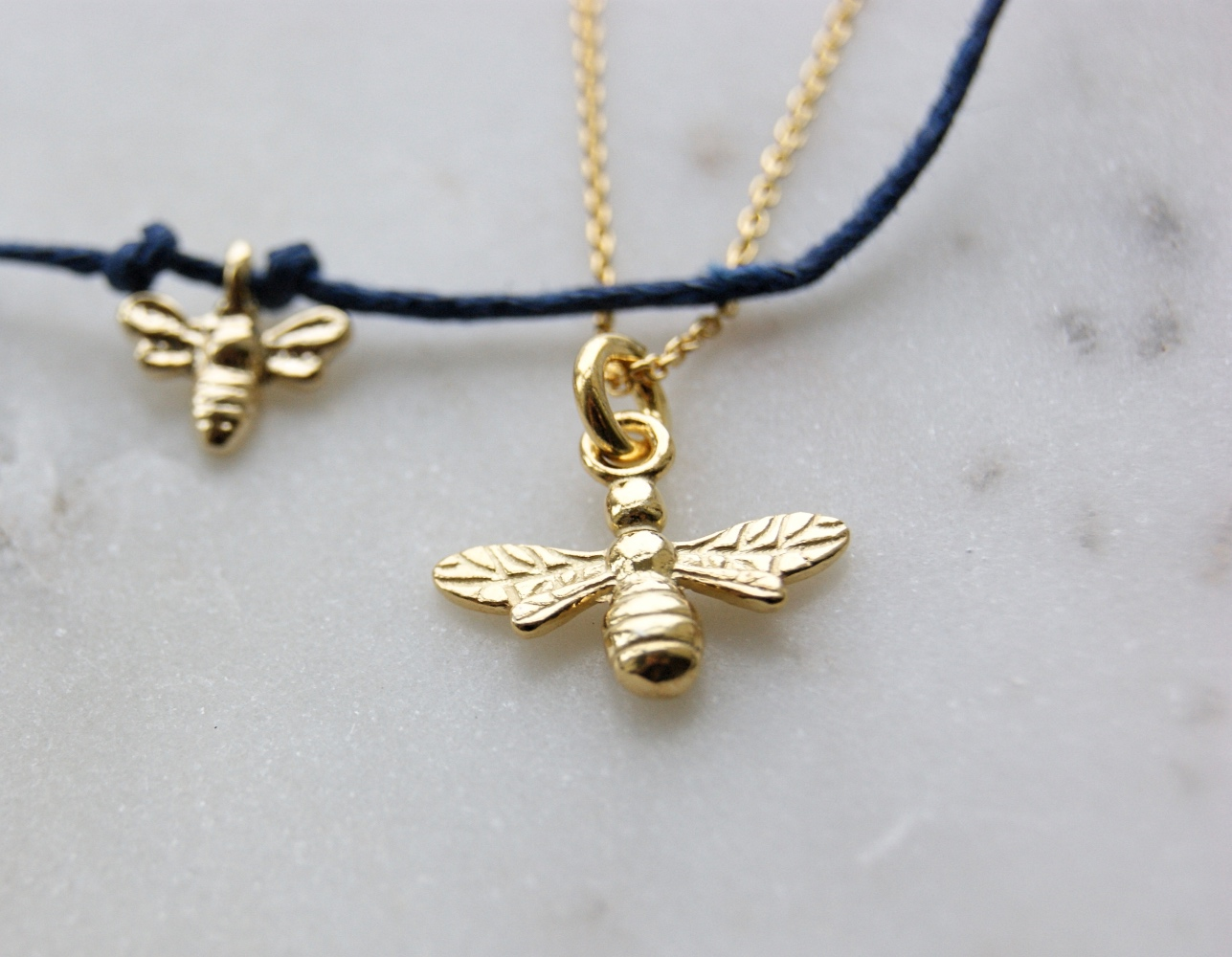 sterling co necklace bumble gold bee silver vermeil with pendant jewellery intricate uk details amazon plated l dp