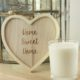 home sweet home heart decoration