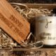 home sweet home gift set by home of juniper with key ring and candle