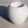 fair trade white marble tea light holder home of juniper