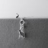 Hare Necklace and Earring - Sterling Silver - Home of Juniper