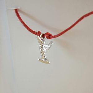 Hummingbird Wish Bracelet in Silver
