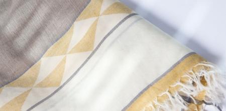 shakti silk scarf - anna loom