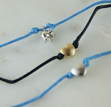 three summer wish bracelets two heart wish bracelets one elephant home of juniper