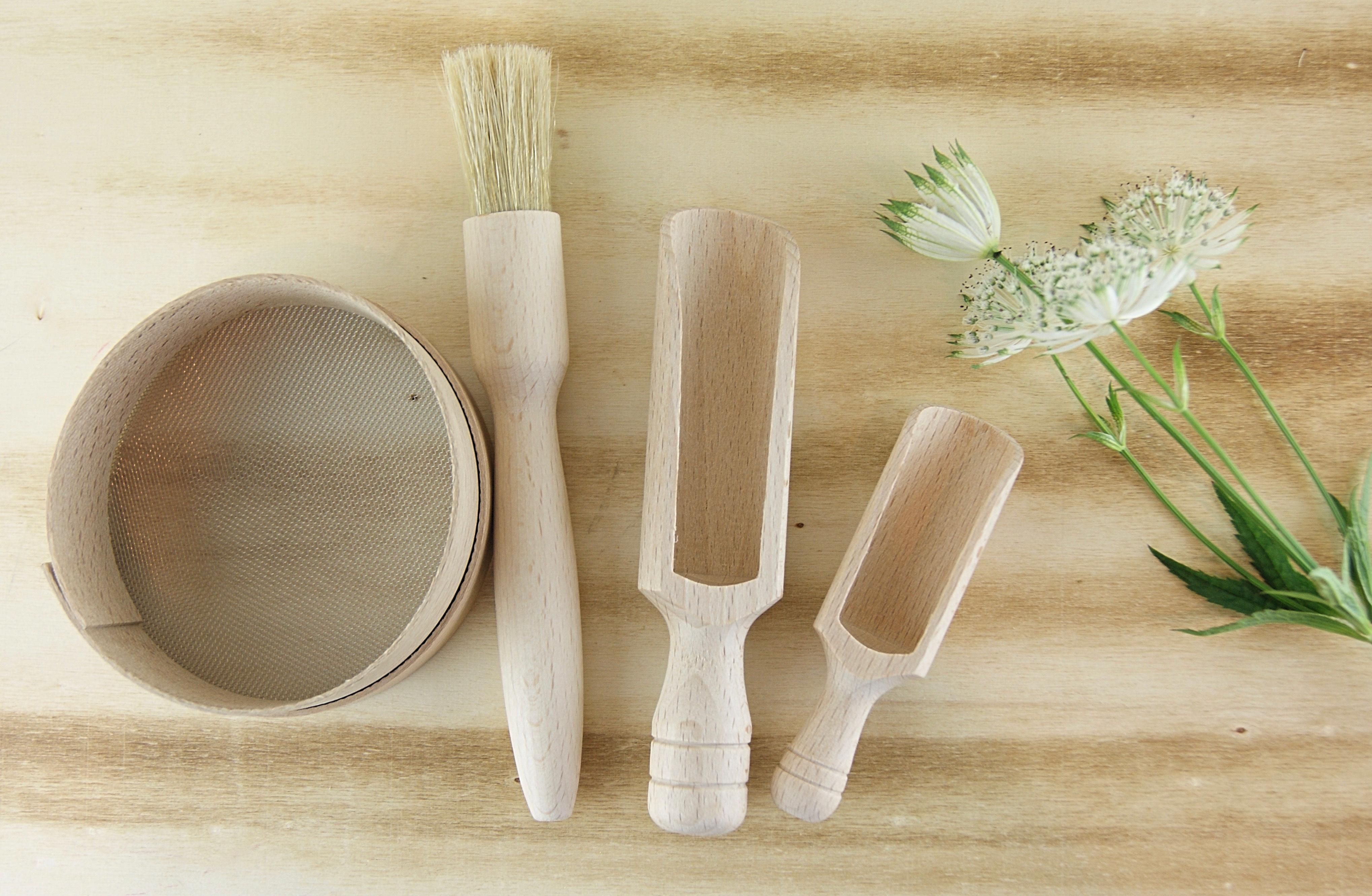 Beechwood Wood Products ~ Small scoop beech wood sustainable home of la juniper