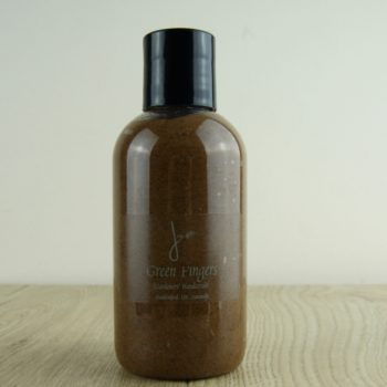 natural gardener's hand scrub in bottle home of juniper