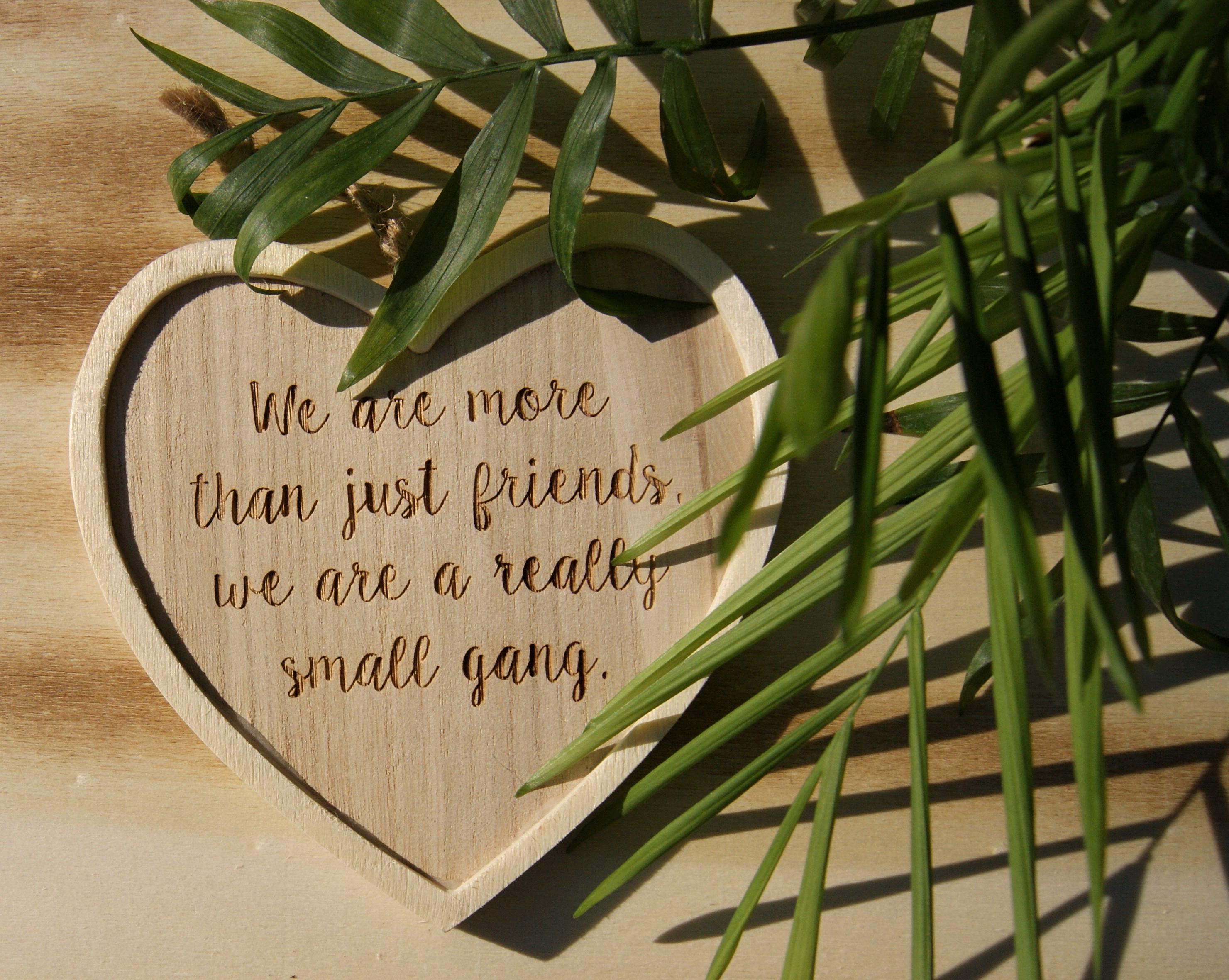 Friend gift set quote uk home : home of la juniper gift