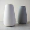 white and grey sue pryke vases