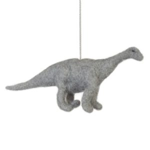 brontosaurus dinosaur felt decoration