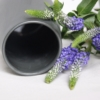 dark-grey-sadie-vase-sue-pryke-homeofjuniper-purple-flowers