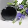 dark-grey-sadie-vase-sue-pryke-homeofjuniper-purple-flowers