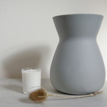 grey sue pryke vase tease and candle all from home of juniper