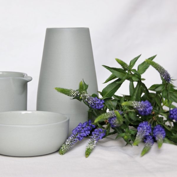 light-grey-sue-pryke-earthernware-vase-creamer-bowl