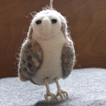felt barn owl - home of juniper
