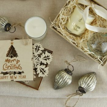A selection of neutral christmas decorations home of juniper