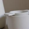 white earternware by suepryke for home of juniper