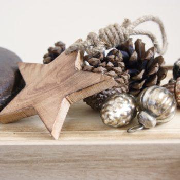 Wood Hanging Star - Fair Trade