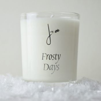 frosty days scented candle - home of juniper