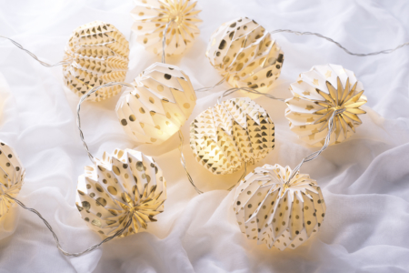 paper lantern lights - fair trade - home of juniper
