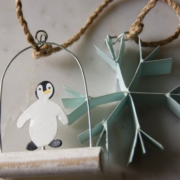 arctic string decoration - christmas - home of juniper