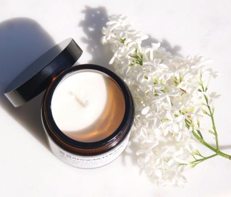aromatherapy-anti-stress-candle-flowers-homeofjuniper.