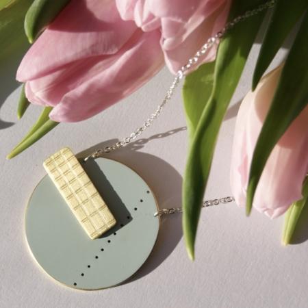 ethical-geometric-blue-enamel-brass-necklace-new-homeofjuniper