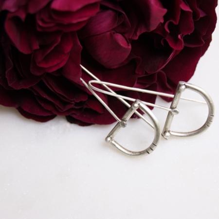 silver-recycled-earrings-homeofjuniper-roses