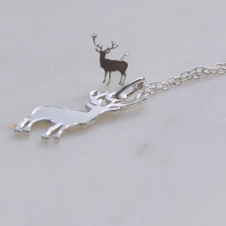 sterling-silver-stag-earrings-necklace-made-uk-homeofjuniper