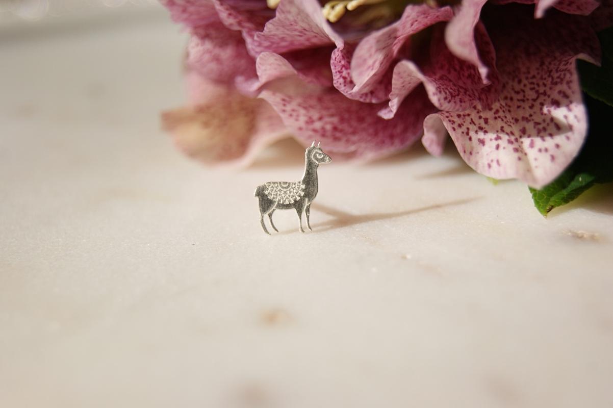 bfee578e0 Llama Earrings - Made in Cornwall - Home of Juniper - Jewellery