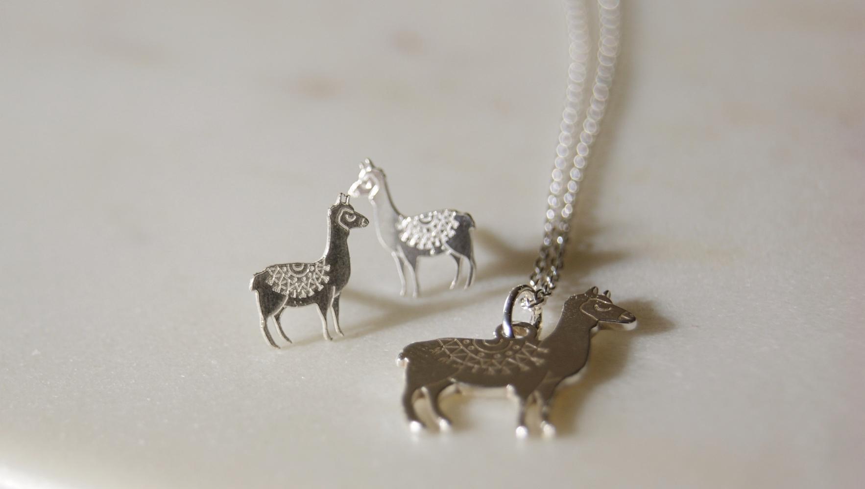 a77330782 llama-earrings-necklace-homeofjuniper-sterling-silver-jewellery