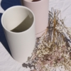 iris-vases-white-pink-dried-flowers-homeofjuniper