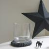 grey-felt-coaster-recycled-glass-star-cow-decor.