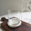 sq-recycled-glass-carafe-felt-coaster-wood-board-homeofjuniper