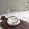 sq-recycled-glass-carafe-felt-coaster-wood-board-homeofjuniper
