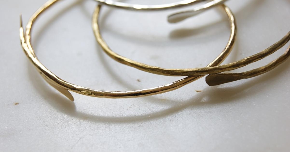 banner-gold-silver-brass-bracelets-homeofjuniper-fair-trade-jewellery-close