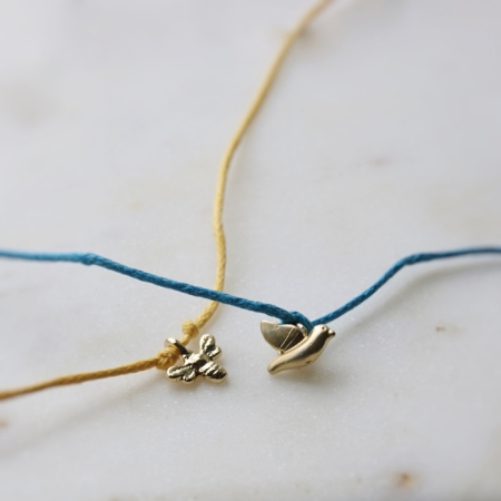 bird-wish-bracelet-bee-wish-bracelet-homeofjuniper-jewellery-made-in-cornwall
