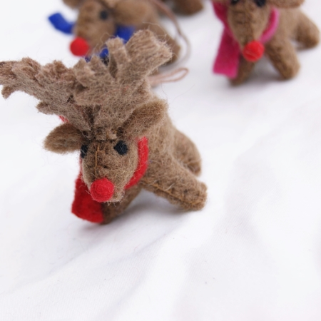 rudolph-reindeer-felt-decorations-homeofjuniper-christmas