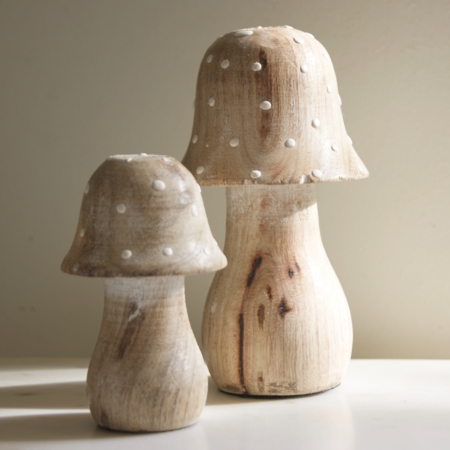 wood-toadstool-mushroom-decorations-fair-trade