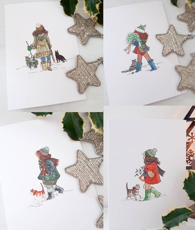 -christmas-cards-annieslittleartroom-etsy-blog