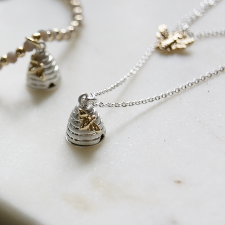 beehive necklace - homeofjuniper