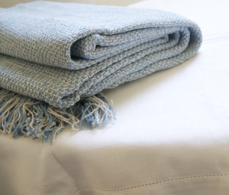 sky-blue-recycled-cotton-throw