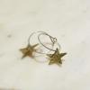 brass-hoop-star-earrings-made-in-cornwalll