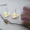 brass-monstera-hoop-earrings-trex-wish-bracelethomeofjuniper-jewellery